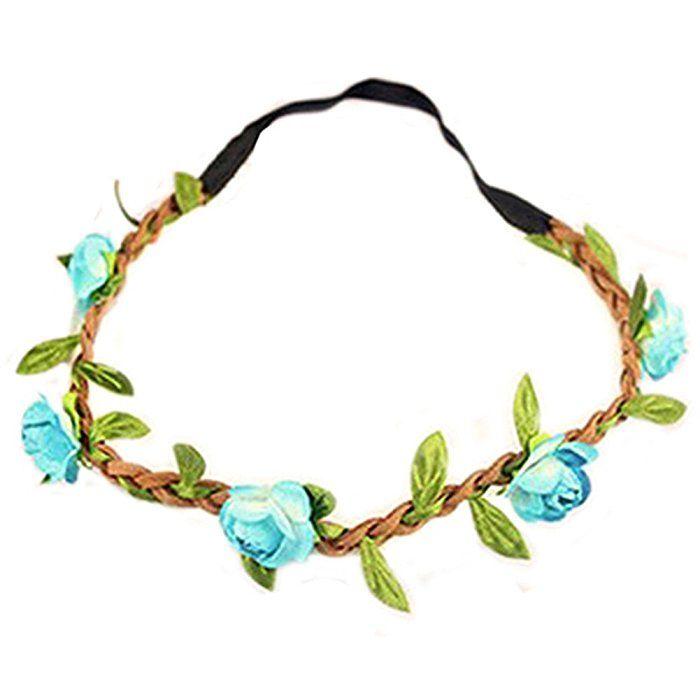 Fascigirl Blumen Stirnband 7 Stück Led Blumenkranz Haarschmuck Rebe Stirnbänd