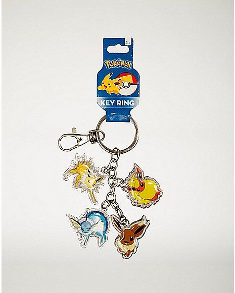 Dangle Eevee Pokemon Keychain Spencer S Wishlist Pinterest