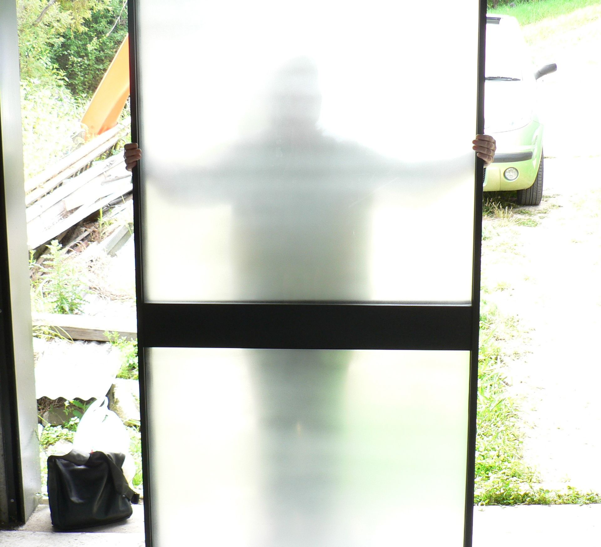 Spray Or Roll On Your Own Window Door Glass Frosting Glass Door Glass Wardrobe Windows And Doors