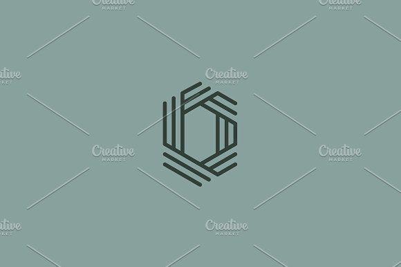 Letter o logo premium elegant symbol by bureau on creativemarket