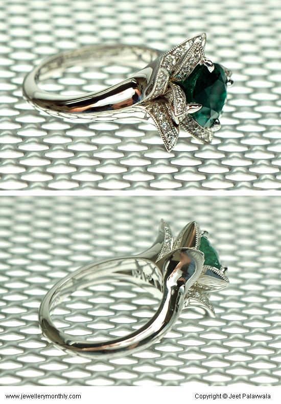 The Lotus Blossom ring.