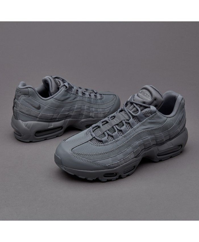 half off 03d4a 681ba Nike Air Max 95 Essential Cool Grey Trainer