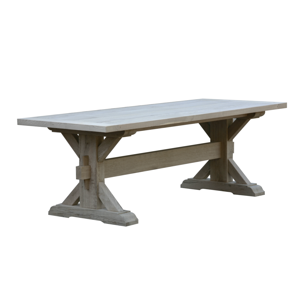 Belgian Oak Dining Table By Malvini Com Weathered Grey Oak Long Dining Table Furniture Factory Table