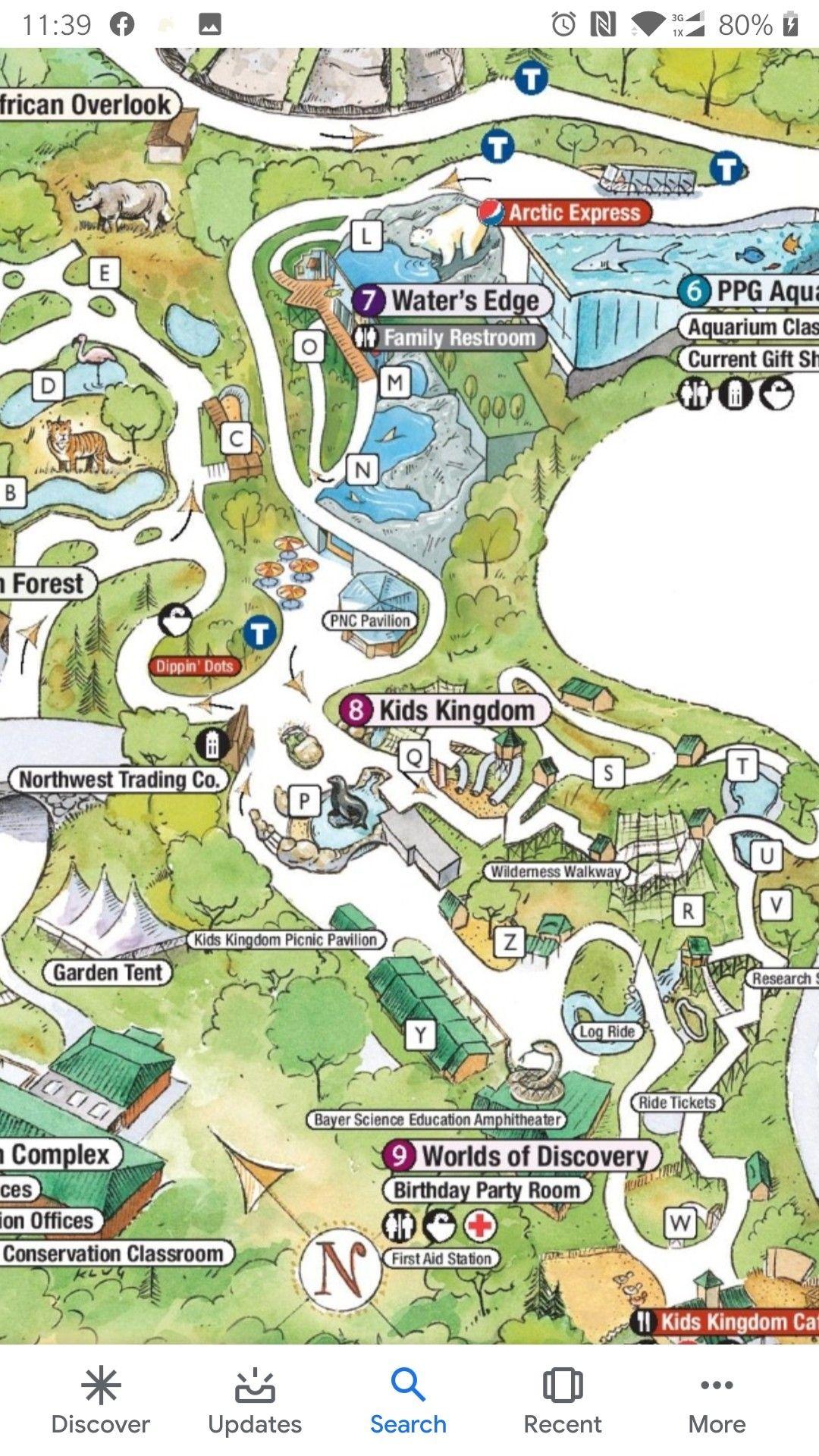 Zoo Map Zoo Map Map Map Screenshot