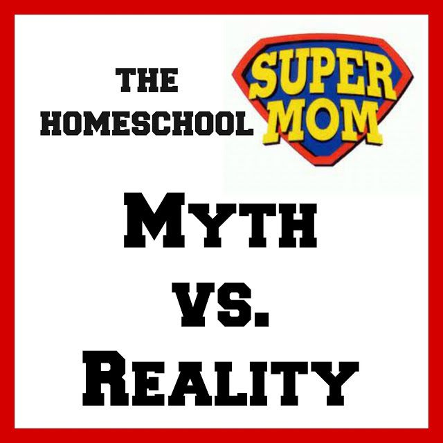Homeschool Super Mom myth