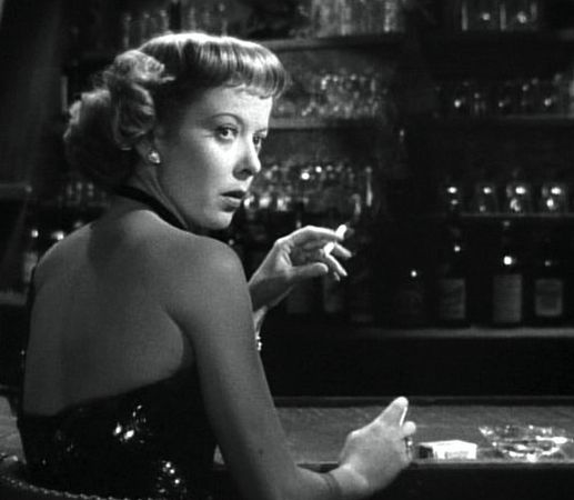film noir chiaroscuro lighting expressionistic staging and hard