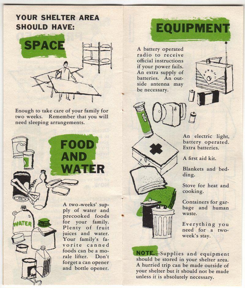 Shelter supplies Sleeping arrangement, Vintage packaging