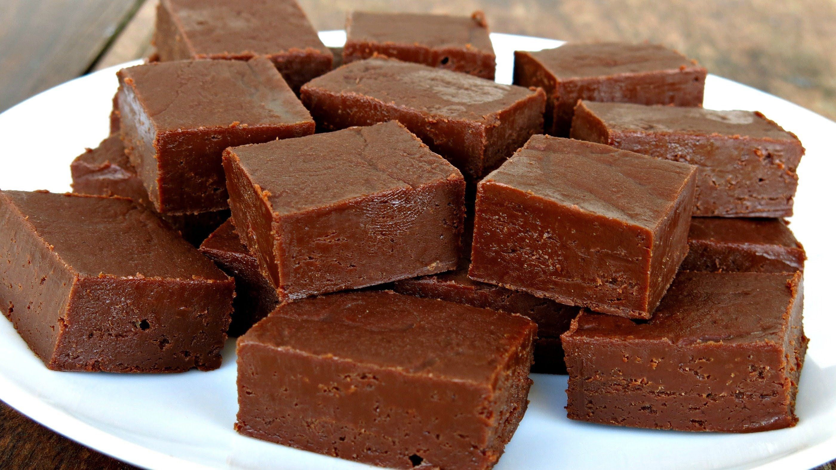 Dark Chocolate Fudge Boiled Candy