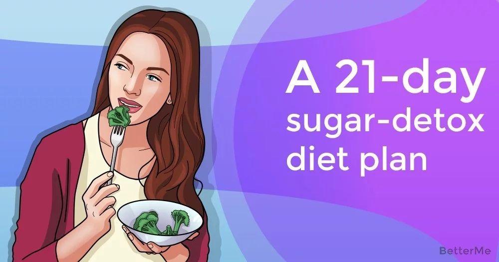 A 21day sugardetox diet plan sugar detox diet sugar