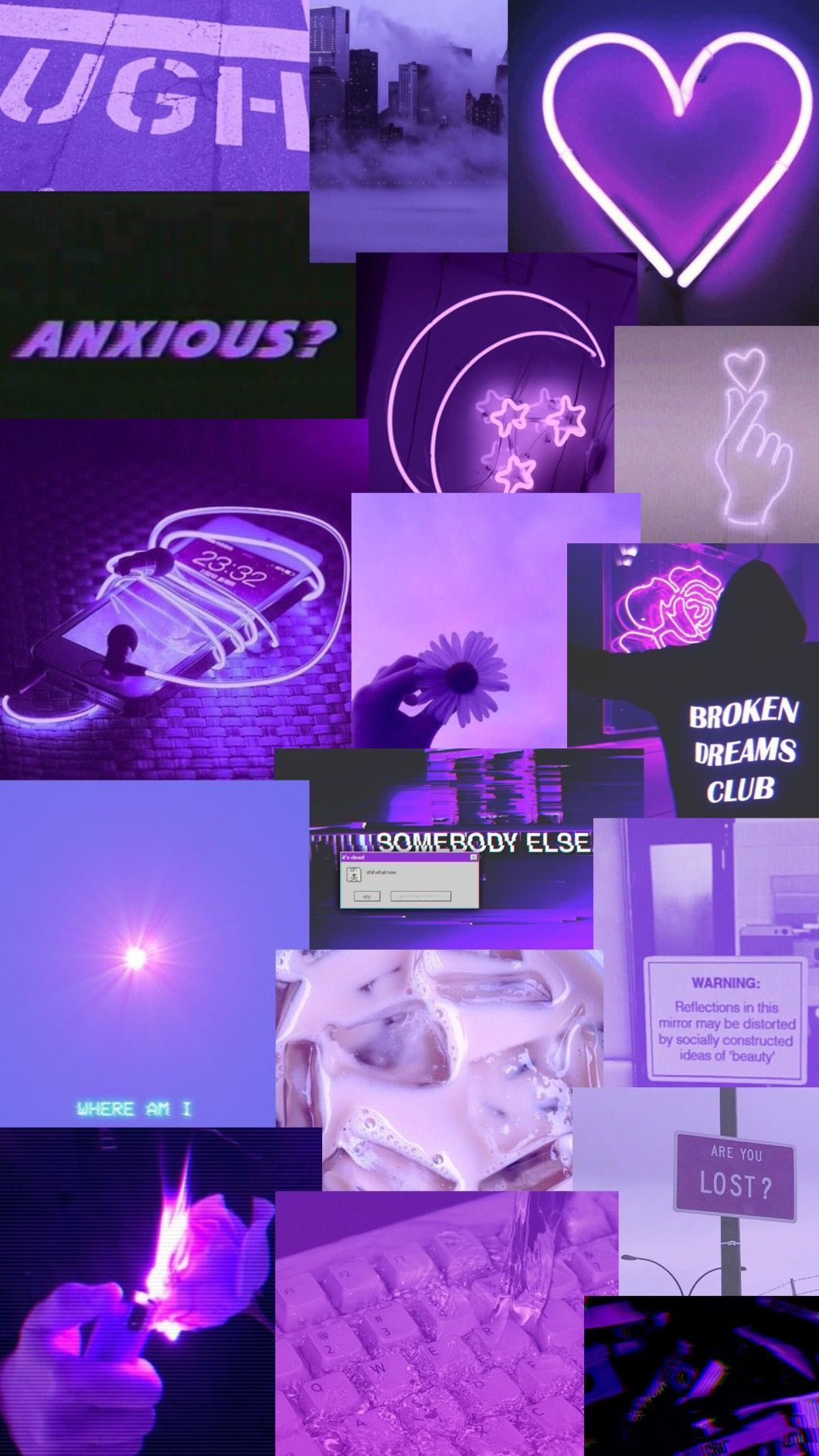 Retro anime aesthetic wallpapers posted by zoey sellers. Pin by caroline on purple aesthetics | Purple wallpaper ...