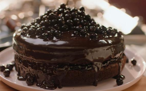 Chocolate And Liquorice Cake Nigella