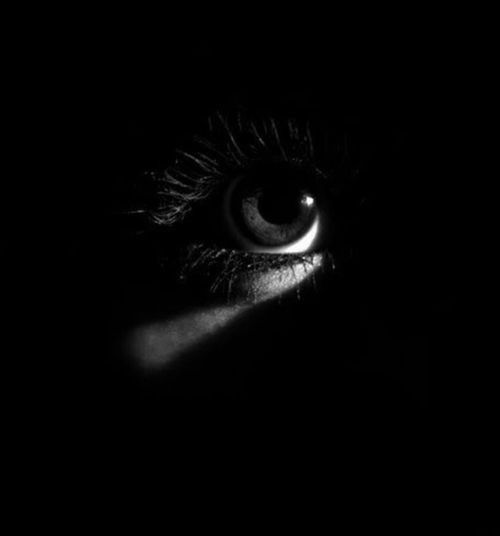 black & white | eyes | darkness | photography | beautiful | silent | still…