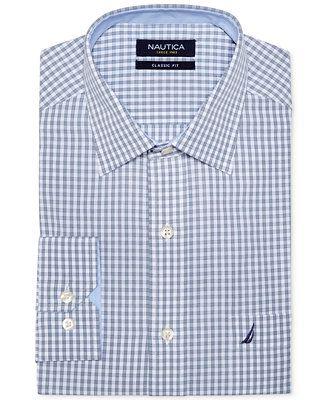 Nautica Check Dress Shirt