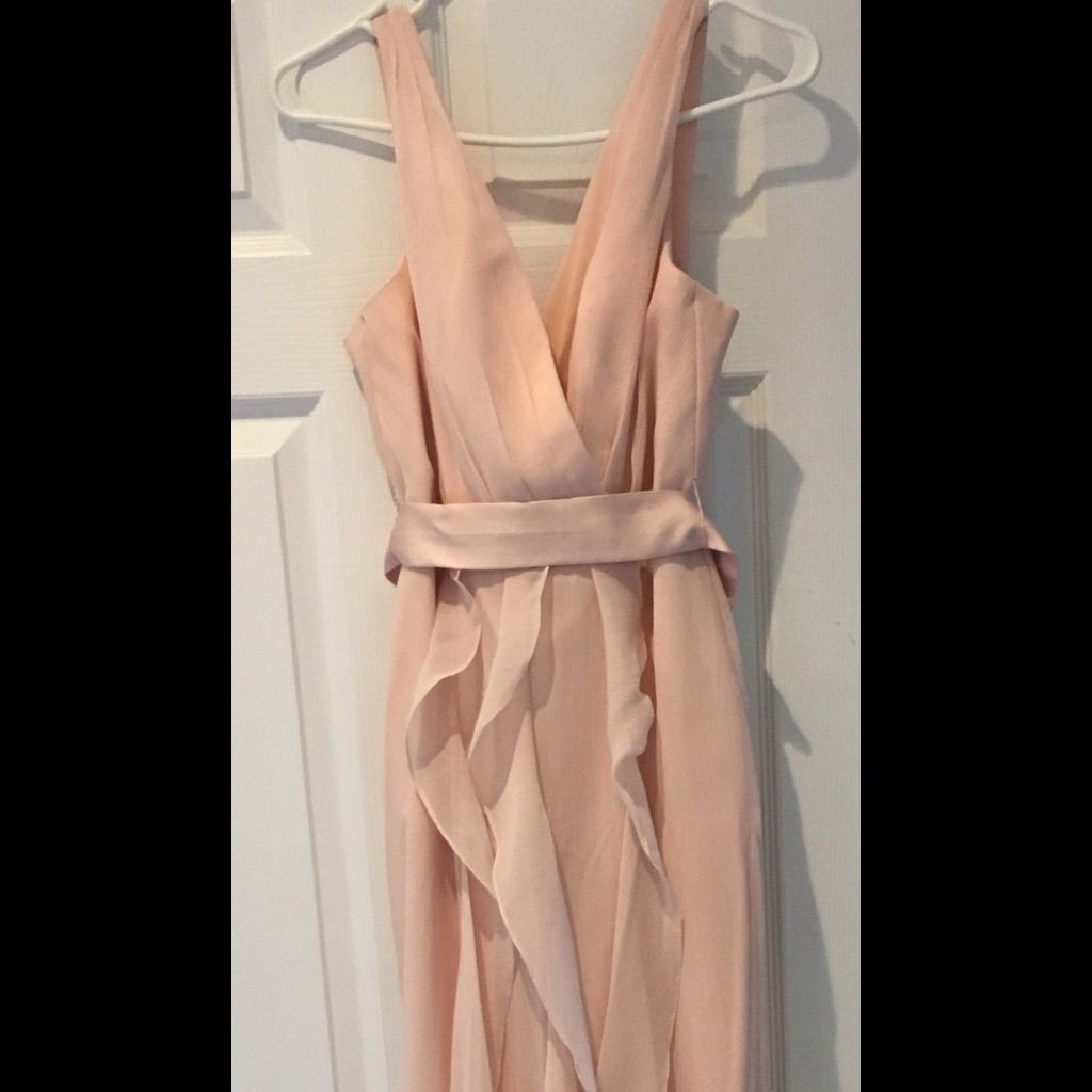 Vera Wang Rose Bridesmaid Dress