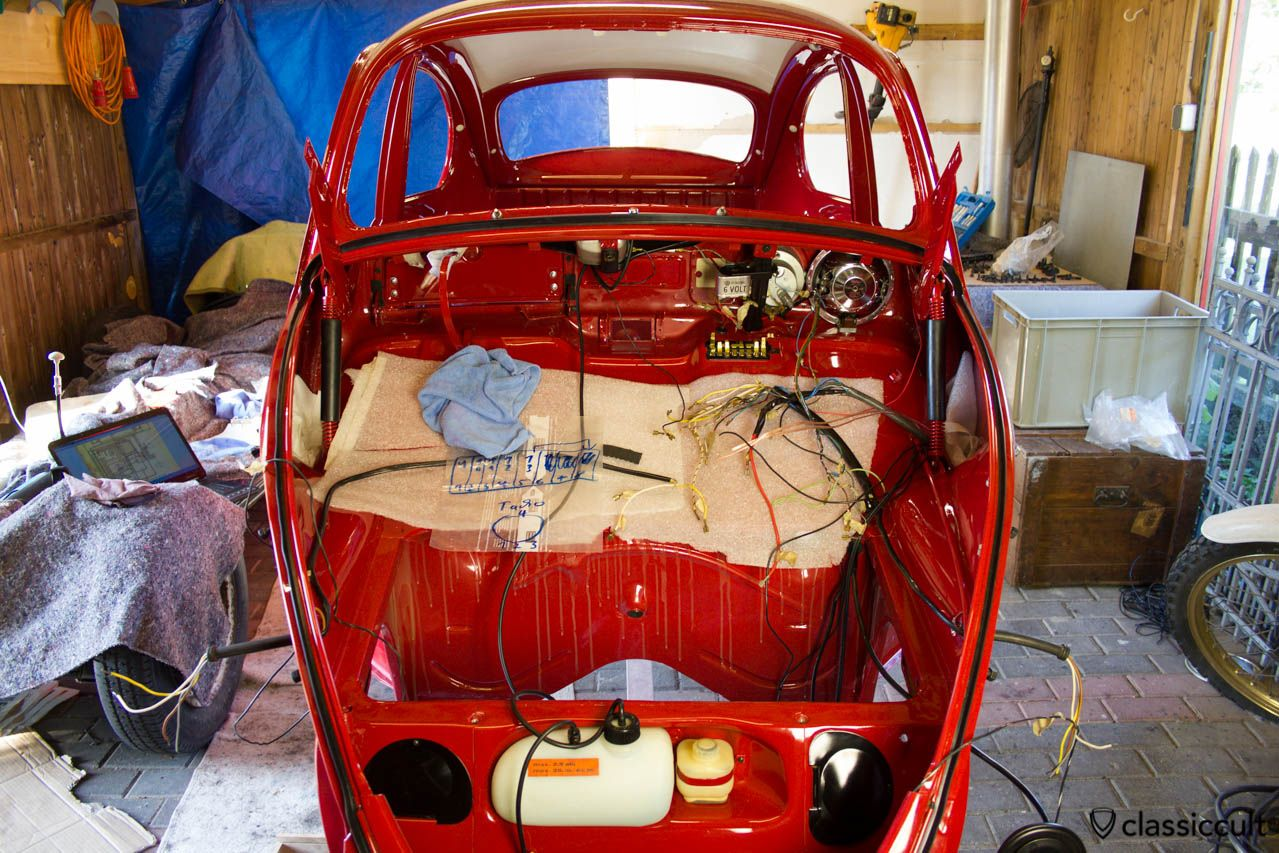 Vw Beetle Restoration Wiring The Original Harness  I Did