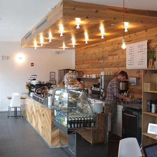 Yoga Studio Lighting Ideas: Hybrid Coffee Shops