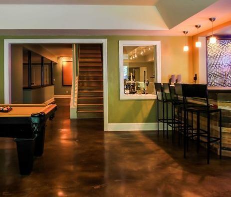 Best Basement Flooring Options For A Flood Prone Basement Basement Flooring Options Best Flooring For Basement Basement Renovations