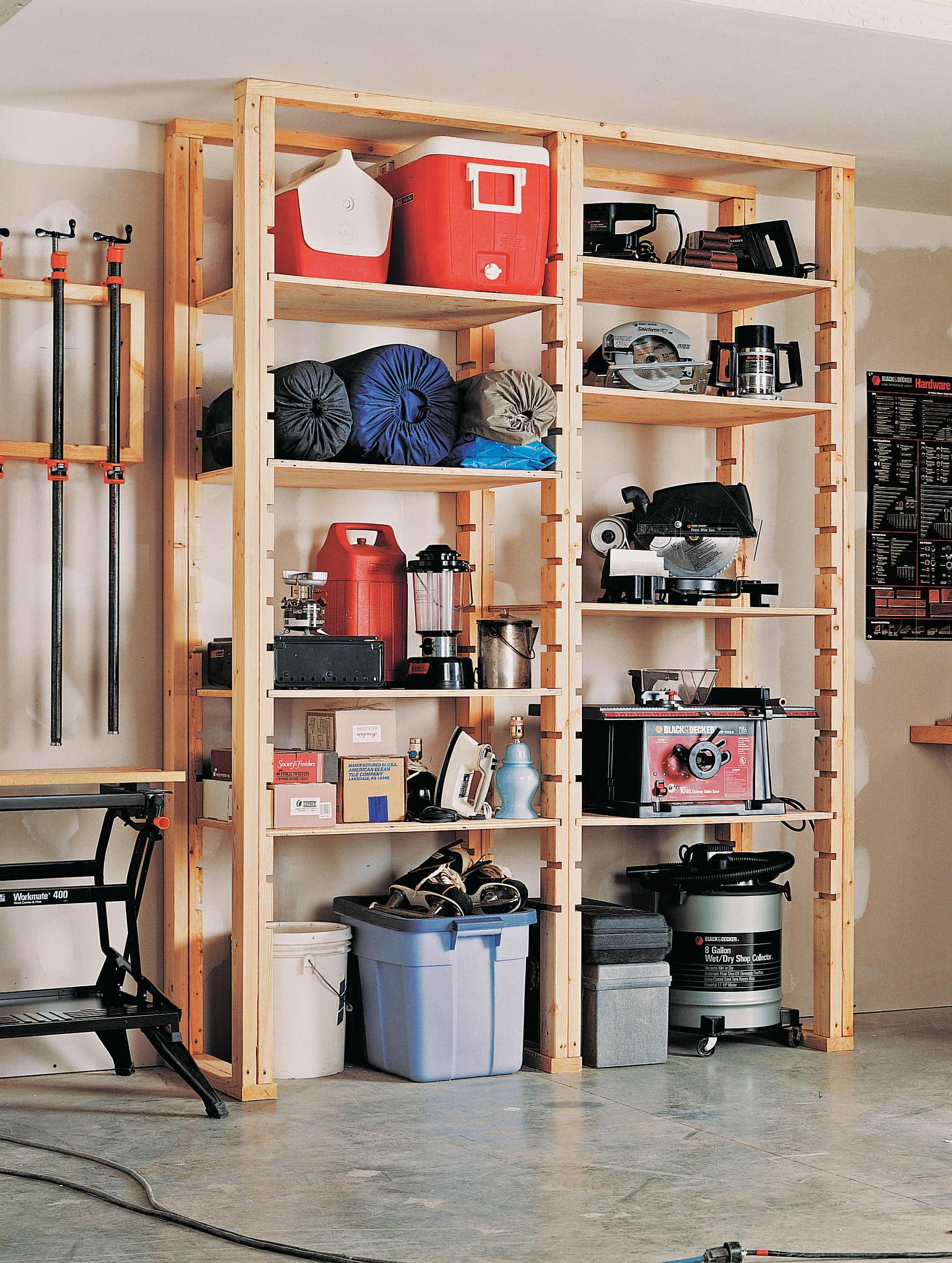 How to Install Utility Shelves