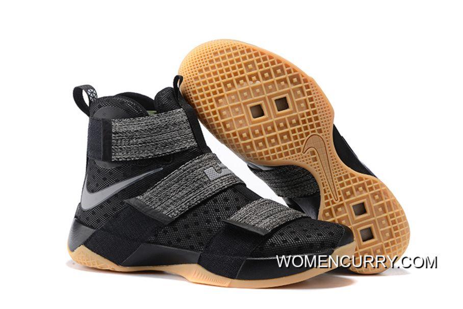 Nike LeBron Soldier 10  Black Gum  Top Deals  40af16a47