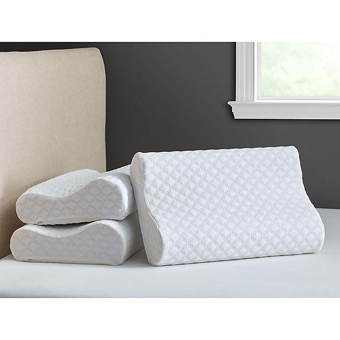 lumbar support pillow bed bath beyond