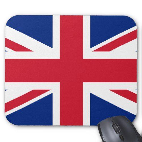 London Mouse Pad Zazzle Com United Kingdom Flag British Flag British Flag Gifts
