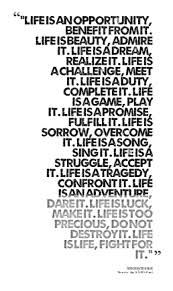 mother teresa life is an opportunity - Google Search