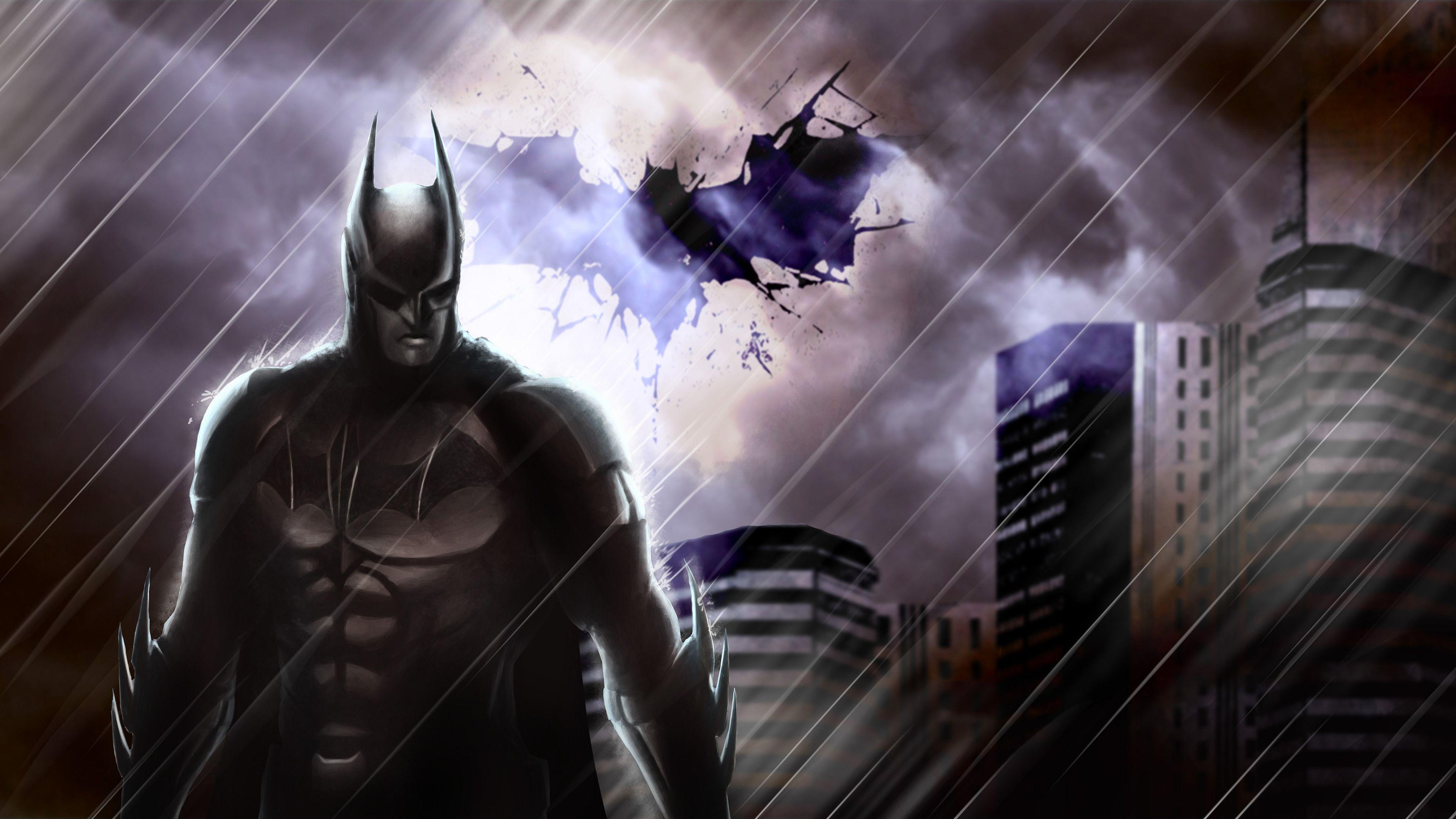 Wallpaper 4k Batman In The Rain 4k 4kwallpapers, artwork