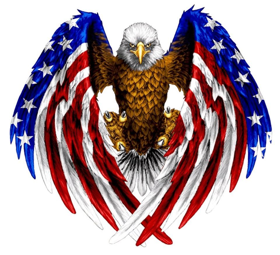 Eagle Red White And Blue Patrioticmillitary Pinterest Tattoos
