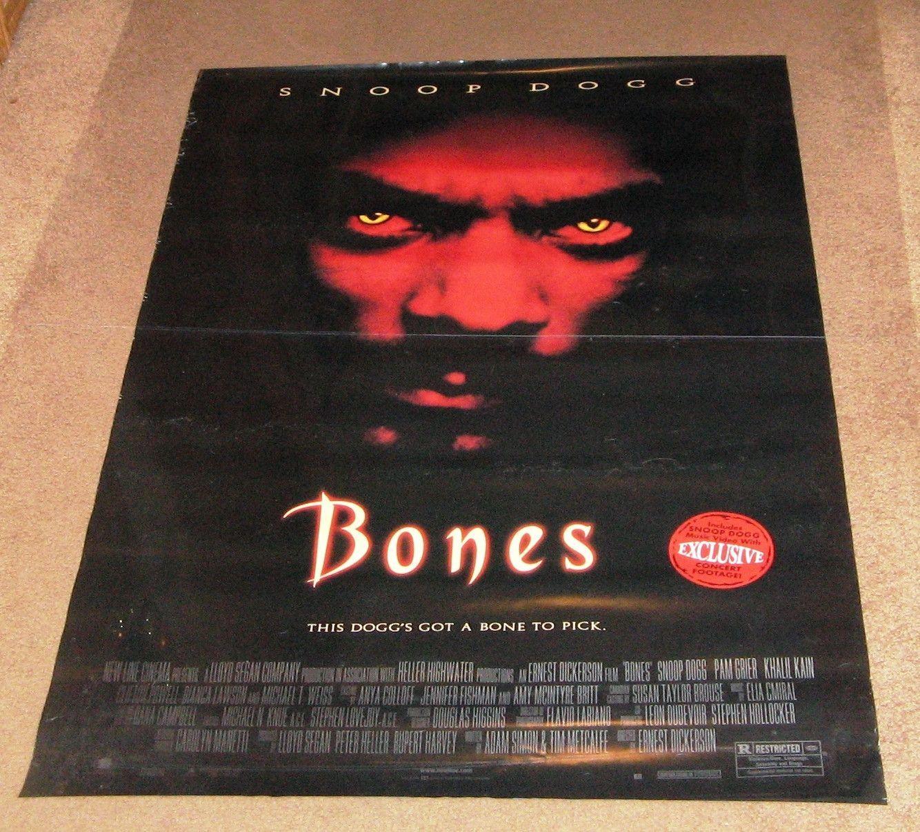 Bones Movie Poster 27x40 Used Snoop Dogg