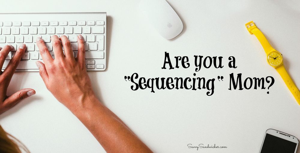 Being a sequencing workingmom has given me flexibility