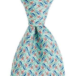 Vineyard Vines Mens Printed Tie - Sailboat Geo