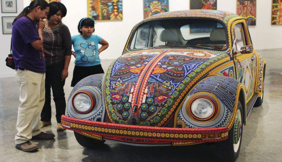 Volkswagen en Museo de Puebla, en México.