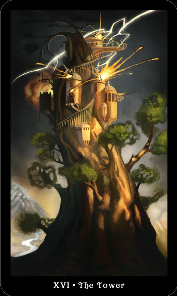 отряда карта таро башня картинка выбирают качестве тату