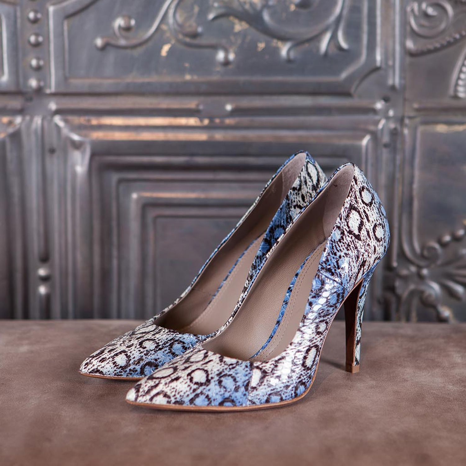 MANHATTAN - blu elaphe  #altiebassi #autumn #winter #italianshoes