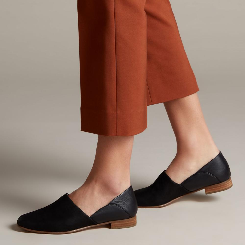 Pure Tone Black - Women's Shoes