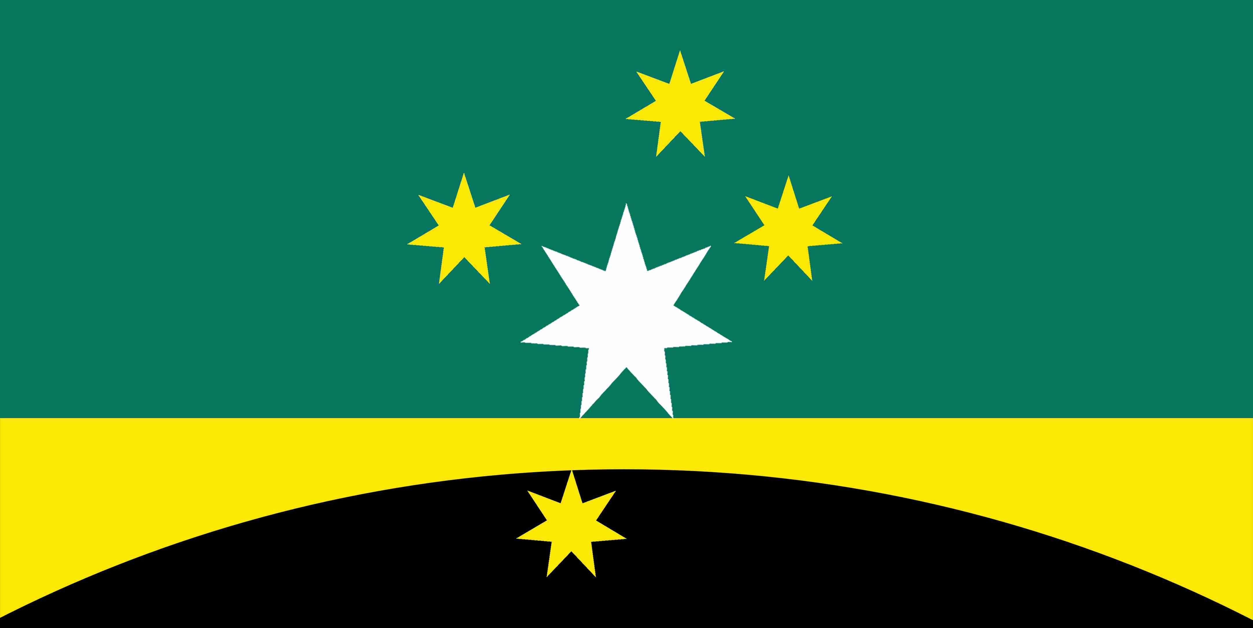 new Australian Flag design series - UluruSky-GoldenHorizon-SC-CS ...