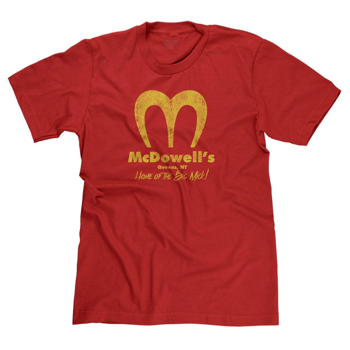 Womens McDonalds Logo T Shirt Casual Short Sleeve Crew Neck Tee Shirts Cotton Summer T-Shirt for Women