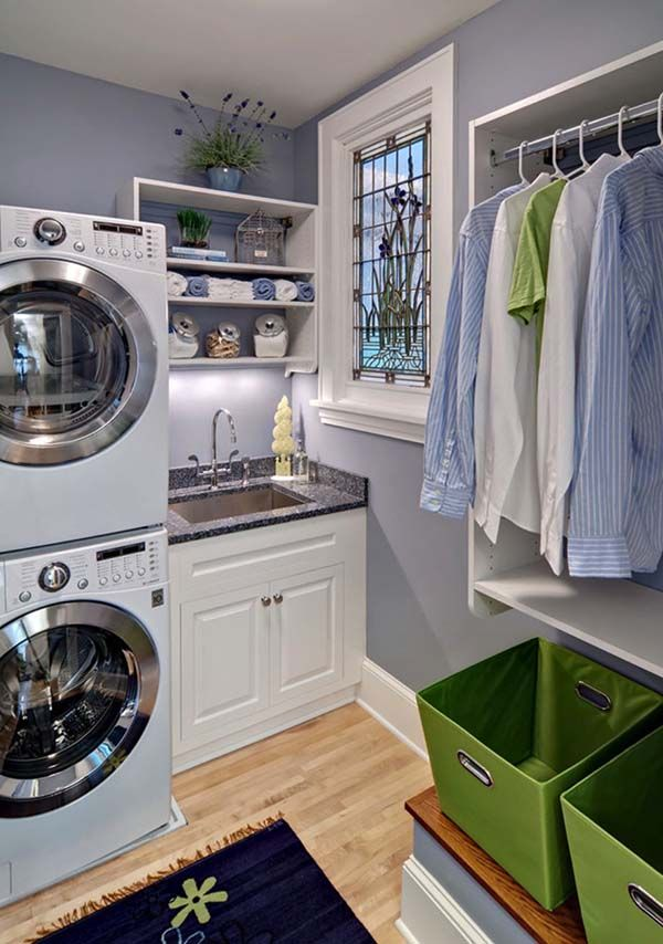 60 Amazingly Inspiring Small Laundry Room Design Ideas Elegant Laundry Room Laundry Room Storage Laundry Room Design