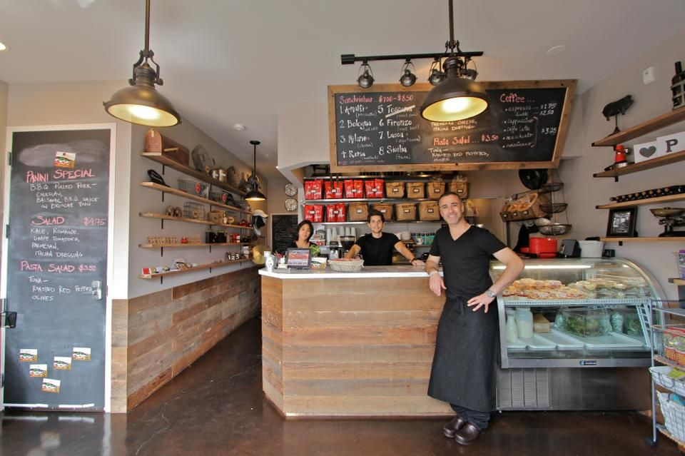 Dream Team. Staff. Italian. Cafe