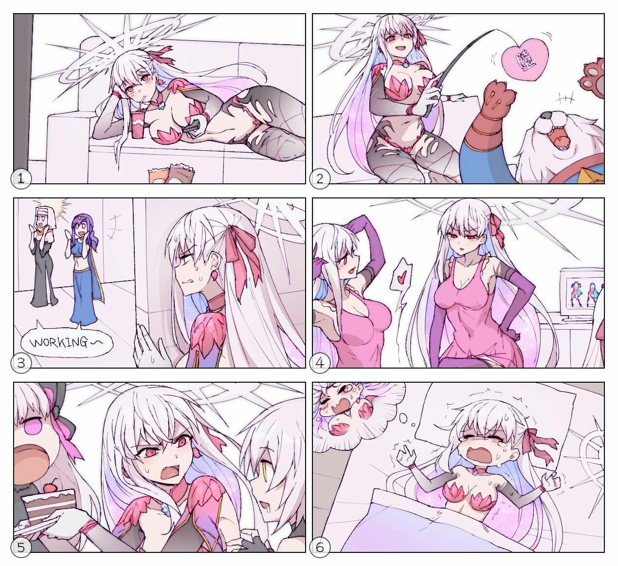 Aheago Comics aqua? :^   fate anime series, fate zero, fate stay night