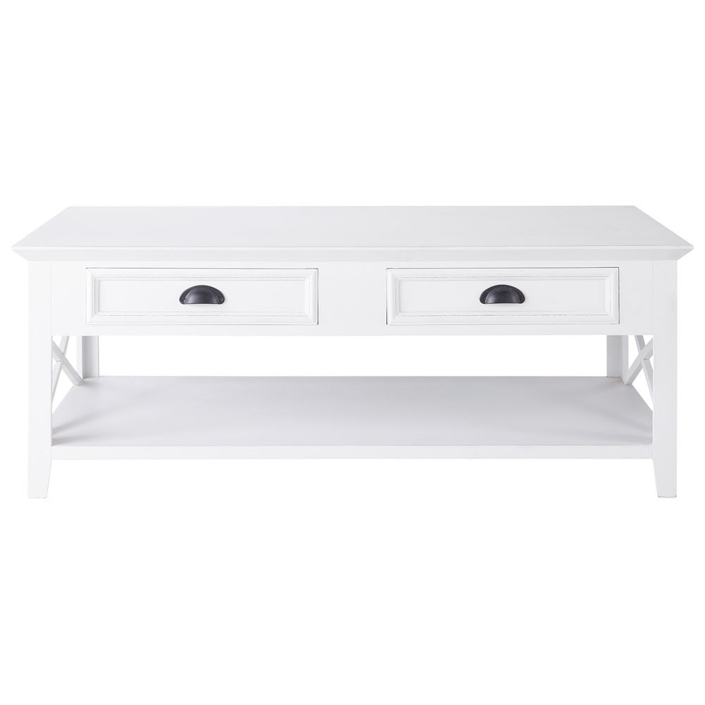 Table Basse En Pin Blanc L 120 Cm En 2019 Products Pinterest