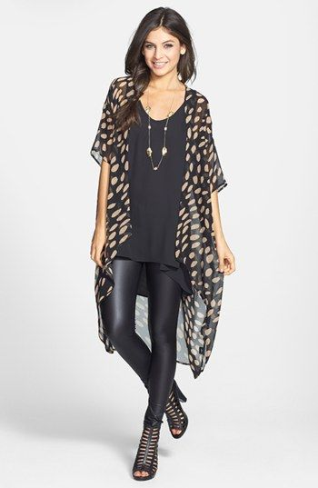 cute way to dress up an outfit!  Add a kimono jacket!!! $38!!