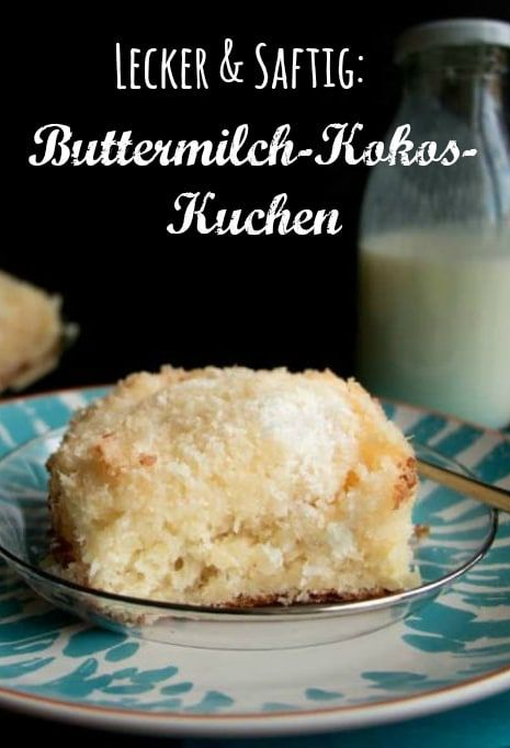 Photo of Quick buttermilk cake with coconut – it's addictive!