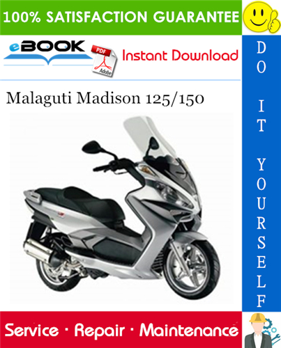 Malaguti Madison 125 150 Service Repair Manual Repair Manuals Repair Madison