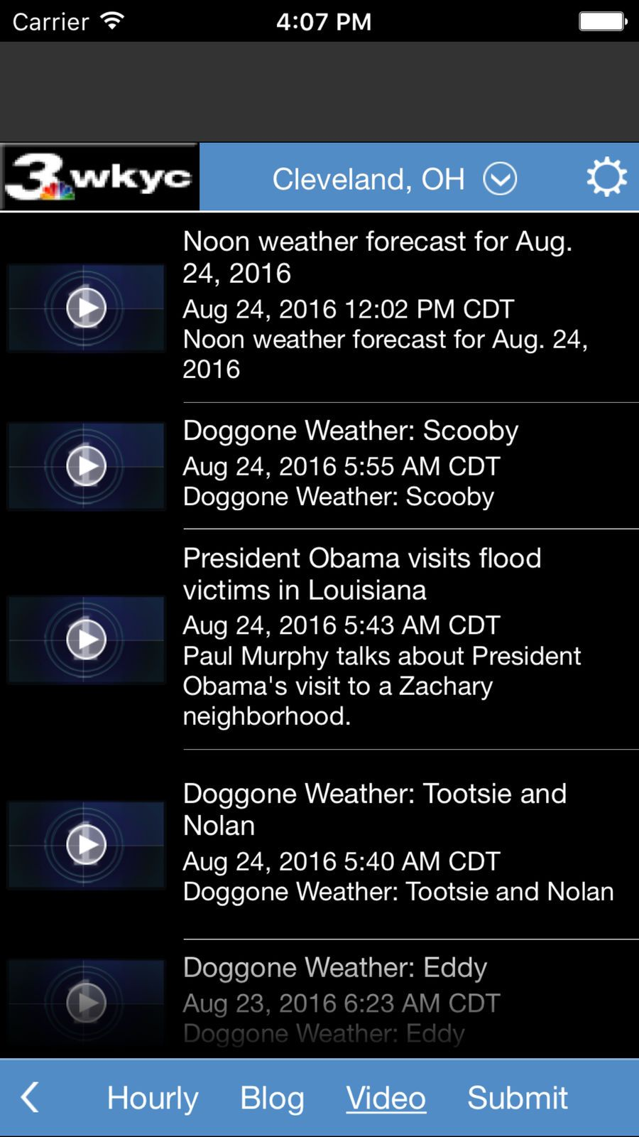 Wkyc Weather Ios Apps App News Weather Apples To Apples Game Game Design