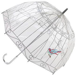 Lulu Guinness Birdcage - Birdcage - PVC Dome Umbrella
