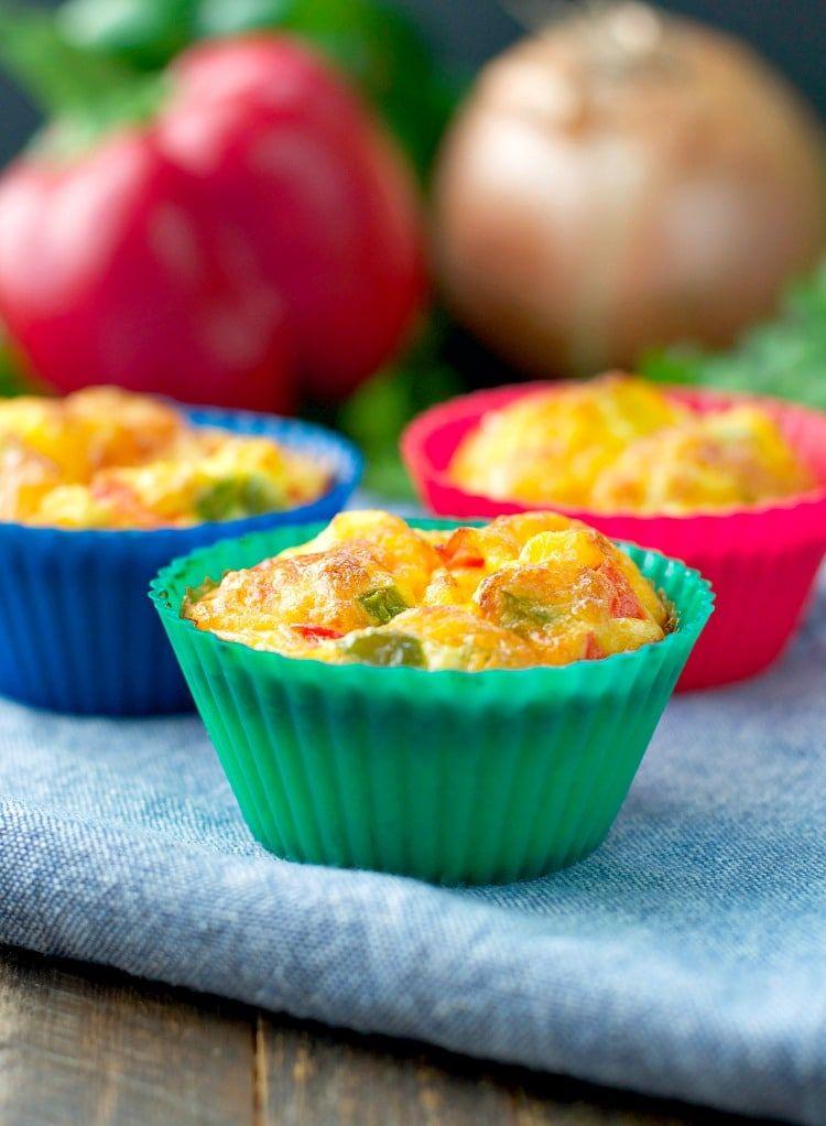 Freezer Friendly Western Omelet Egg Muffins Recipe Breakfast