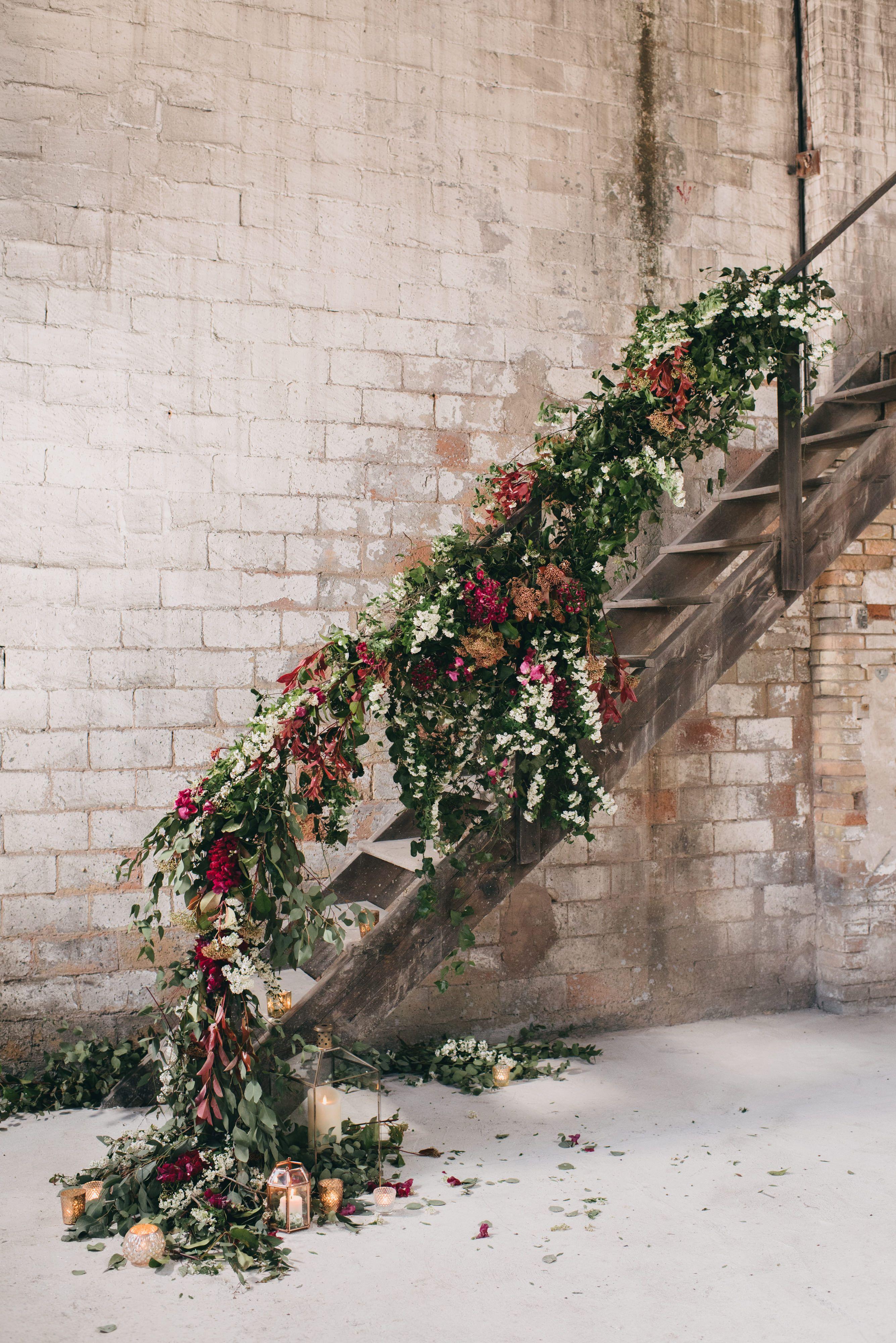 Floral decoration by Mireia Abras