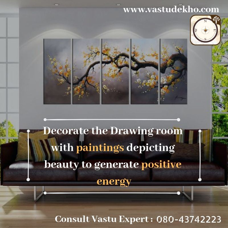 Vastu Recommendations To Transform Your Home Into Your Dream Place Living Room Yoga Living Room Style Living Room Designs Paintings for living room vastu