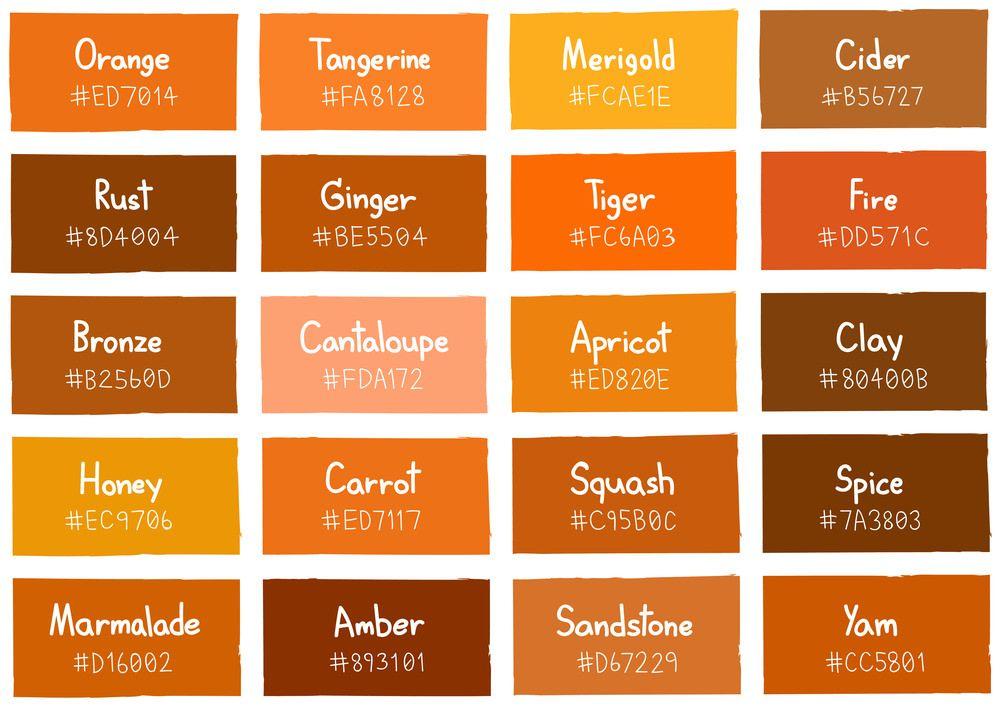 55 Orange Interior Design Ideas Orange Room Ideas Orange Color Shades Orange Color Palettes Orange Color Code